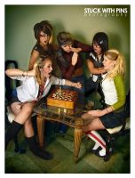 Chess Club - I by stuckwithpins