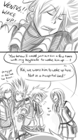 Not the right tactic Kairi by cjwolf207