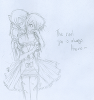The real you is always there to break you. by PrincessElaina
