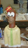 Mr CheeChee puppet by TimBakerFX