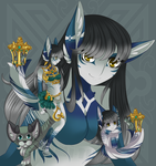 Adoptable SPECIAL (CLOSED)- Tail Guardian + RAFFLE by Lai-Tut