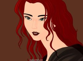 Portrait Lucille by I-Major-In-Magick