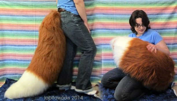 XL Holo/Fox Tail by LobitaWorks