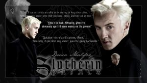 Draco Malfoy Wallpaper by Alia-x