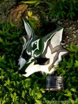 Twilight Princess: Link Wolf Leather Mask by senorwong