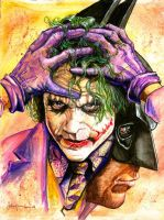 Heath Andrew Ledger by JohnHaunLE