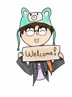 A Welcome From SuperJeenius by PixelatedBudder