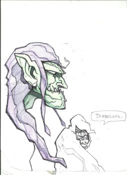 Green Goblin and Doc Doom 001 by Spoon1004