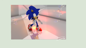Staring at your reflection by Triplet99c