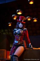 Mad Moxxi takes Manhattan by QueenRiot