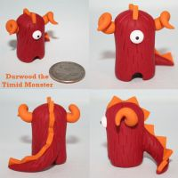 Durwood the Timid Monster by TimidMonsters