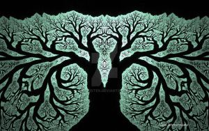 THE TREE OF LIFE AND KNOWLEDGE by GeaAusten