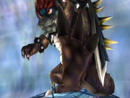 Giga Bowser: Me Stomp You by THEJAO1000