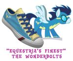 Wonderbolts shoes by DoctorRedBird