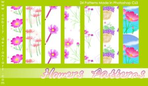 Flowers Photoshop Patterns by Coby17