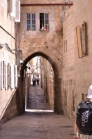 Alley in the Old City by Skyrover
