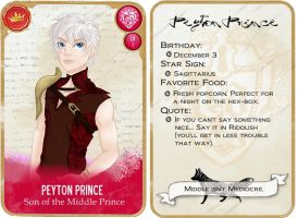 Peyton Prince TCG by Amythest621