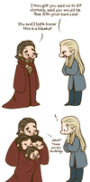 Hobbit - It's a Blanket by caycowa