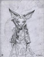 Blade and soul character 2 by TGnow
