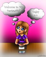 My new devianART ID by Kathy-the-echidna