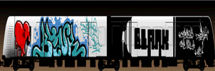 TRAIN BLANKed-graffstudio by MFBlank