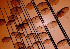 Mary Poppins Umbrellas by kingmouf