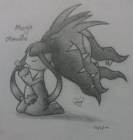 Mega Mawile by Bluekiss131