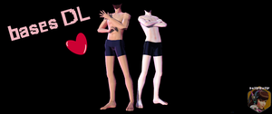 [MMD] Male Bases Pack ( DL!!) by DollyMolly323