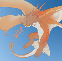 httyd2 Cloudjumper W.I.P. by Triple-Torch-Art