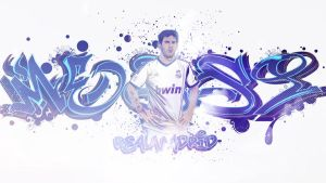 Lionel Messi Real Madrid by akyanyme