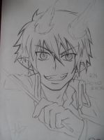 rin *ao no exorcist* by Rose96ale