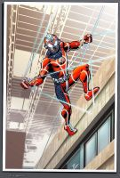 Project Rooftop: Spider-man by RichYan33