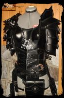 leather armor women by Lagueuse
