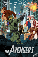 Video Game Avengers by General-Hazard