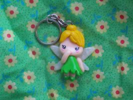 Tinkerbell key chain by LaManish
