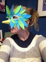 Paper Bird Mask by Bluewires