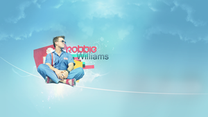 Robbie Williams Wallpaper by JandoDC