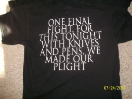 Back of the fourth BVB shirt by JacobyxShaddix