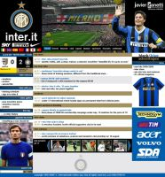 Lay out site inter milan by GuillermoMila