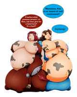 CMSN: Bloated Bovine Bosom Beauties by elek-tronikz