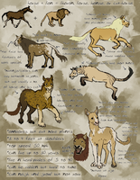 Liorse Species Sheet (open* species) by Pred-Adopts