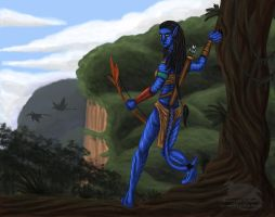 Neytiri by Ravenfire5