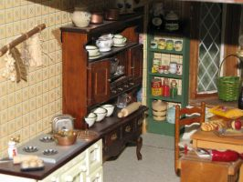 English Country House Kitchen by duskofinnocence