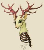 A Darling Deer by Rodent-blood