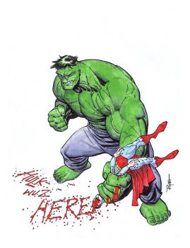 HULK VS SUPERMAN by RyanOttley