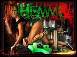 Christy Hemme promotional poster by jasonbeam