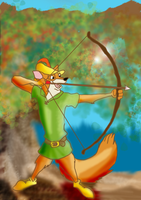 Robin Hood by MintyMaguire