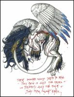 Griffin My Immortal by psycrowe
