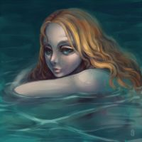 Mermaid by Delfi-Delfi