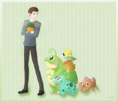 Pokemon Trainer Neville by inkZER0